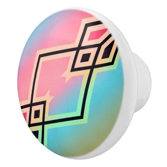 Colours and Emotions 7 Ceramic Knob