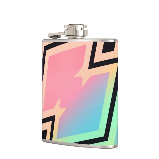 Colours and Emotions 7 Hip Flask
