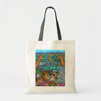 Colours of Africa Budget Tote Bag