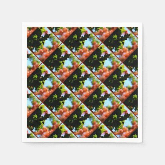 Colours of Autumn 02 Disposable Napkin
