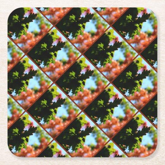 Colours of Autumn 02 Square Paper Coaster