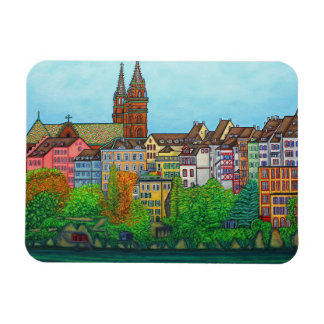 Colours of Basel Magnet by Lisa Lorenz
