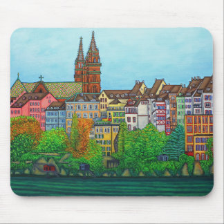 Colours of Basel Mouse Pad by Lisa Lorenz