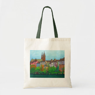 Colours of Basel Tote Bag by Lisa Lorenz