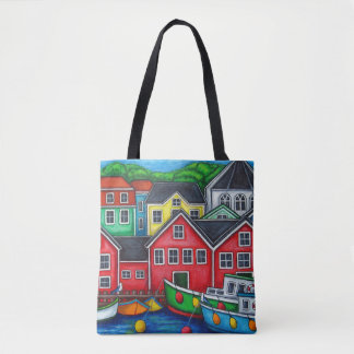 Colours of Lunenburg Bag By Lisa Lorenz