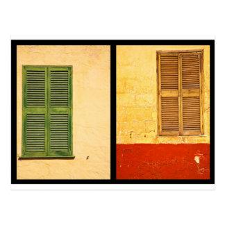 Colours of Menorca Postcard