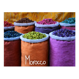Colours of Morocco Postcard