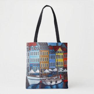 Colours of Nyhavn Bag By Lisa Lorenz