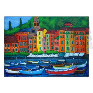 Colours of Portofino Card
