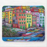 Colours of Riomaggiore - Mousepad