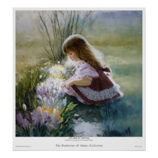 Colours Of Spring Poster