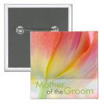 Colours of Spring • Wedding Button