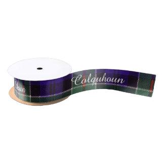 Colquhoun clan Plaid Scottish tartan Satin Ribbon