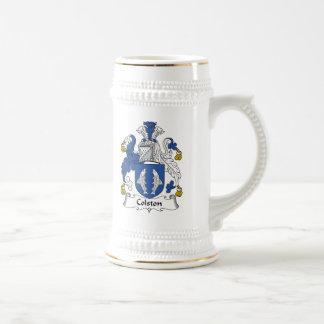 Colston Family Crest Beer Stein