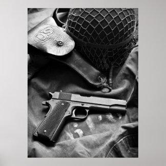 Colt 1911A1 Poster