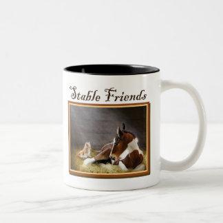 Colt & Kitten Stable Friends Mug