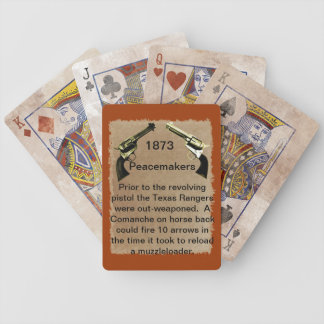 Colt Peacemakers Playing Cards