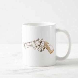 Colt Python 357 magnum sketch Coffee Mug