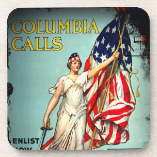 Columbia Calls Enlist Now Coaster