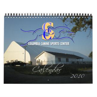 Columbia Canine Sports Generic 2010 Dog Calendar