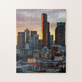 Columbia center and downtown Seattle, Seattle Jigsaw Puzzle