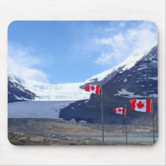 Columbia Icefield Glacier Mouse Pad