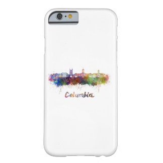 Columbia MO skyline in watercolor Barely There iPhone 6 Case