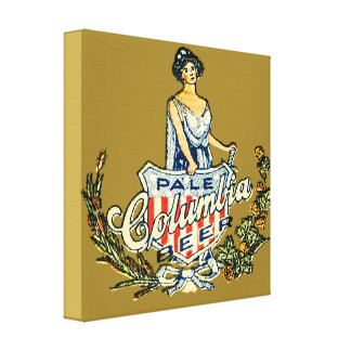 Columbia Pale Beer Canvas Print