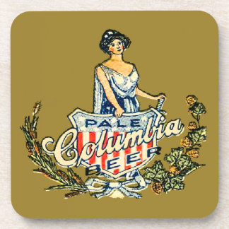 Columbia Pale Beer Coaster