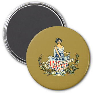 Columbia Pale Beer Magnet