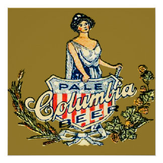 Columbia Pale Beer Poster