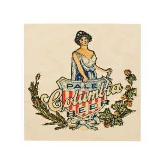Columbia Pale Beer Wood Wall Decor