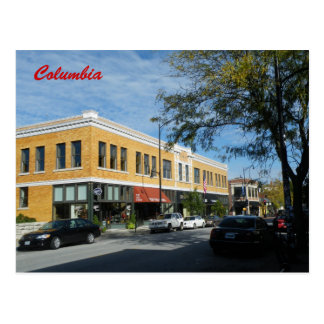 Columbia Postcard