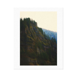 Columbia River Gorge First Snow Canvas Print