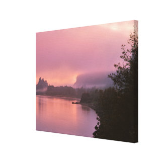Columbia River Gorge, Sunrise, OR Canvas Print