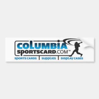 Columbia Sports Card Bumper Sticker