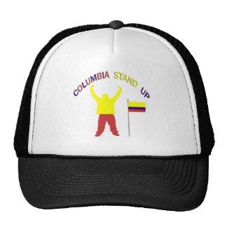 Columbia Stand Up Mesh Hats
