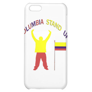 Columbia Stand Up Cover For iPhone 5C