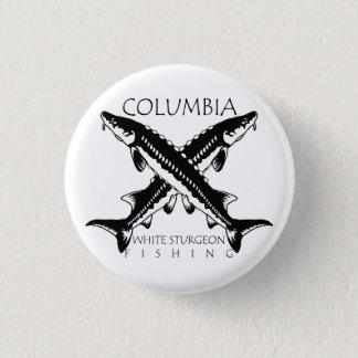 Columbia-White Sturgeon Fishing-Mini Button