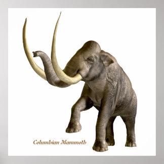 Columbian Mammoth Print