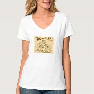 Columbias Bicycles Vintage Advert Tee Shirt