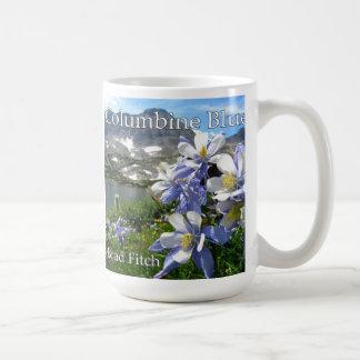 Columbine Blue Mug