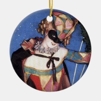 Columbine Circle Ornament