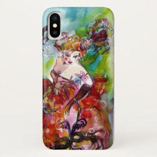 COLUMBINE / Venetian Masquerade Night iPhone X Case