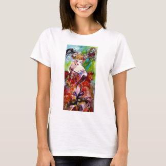 COLUMBINE / VENETIAN MASQUERADE T-Shirt