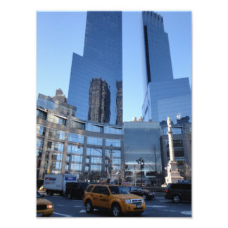 Columbus Circle Architecture New York City NYC Photo Print
