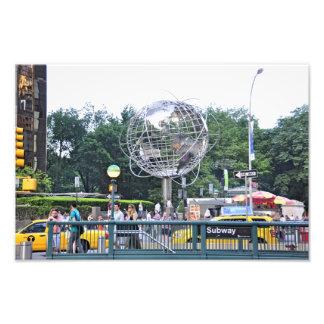 Columbus Circle Photograph