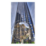 Columbus Circle Tower Central Park South Business Cards