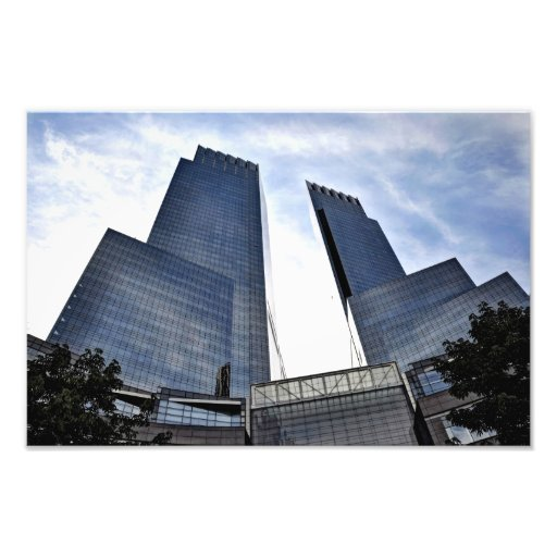 Columbus Circle Towers Central Park South Photographic Print