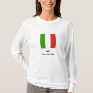 Columbus Day 1492 Italian Flag Sweatshirt